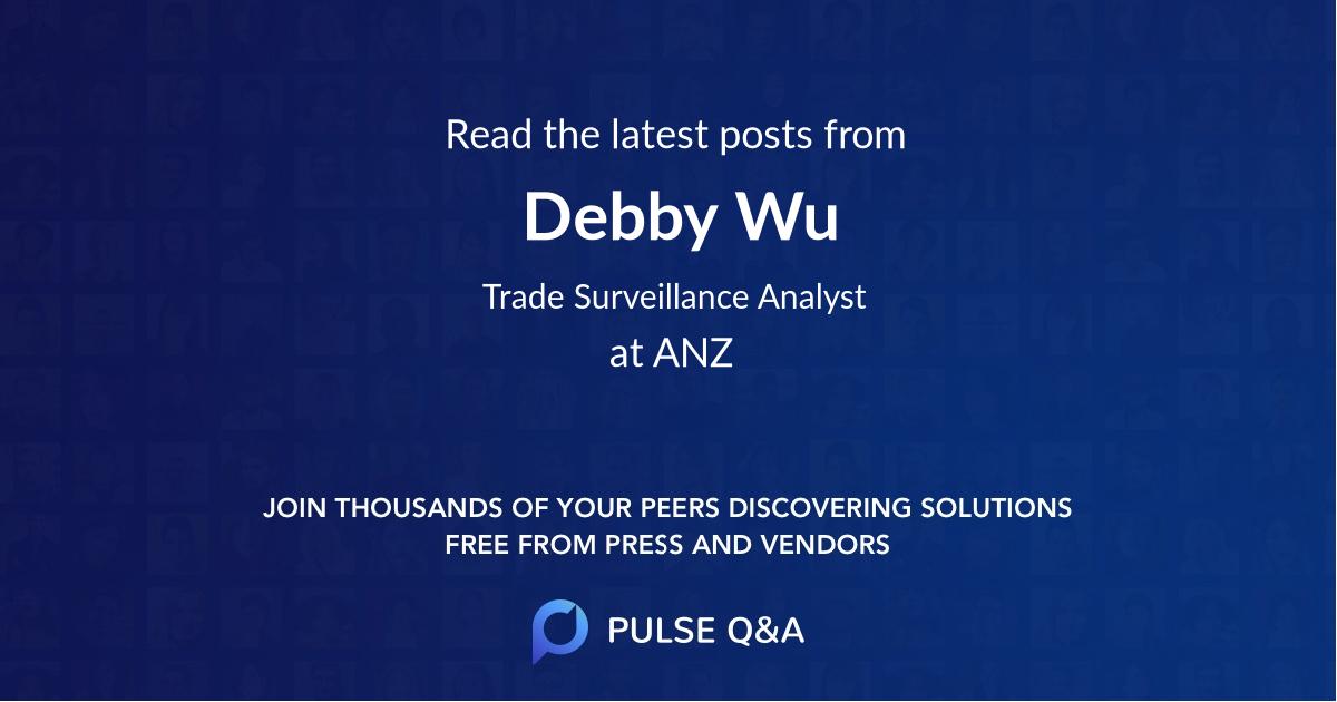 Debby Wu