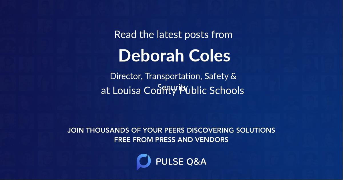 Deborah Coles