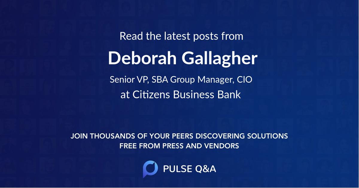 Deborah Gallagher