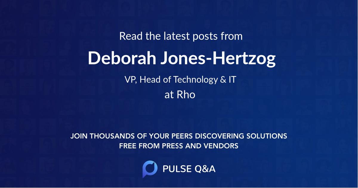 Deborah Jones-Hertzog
