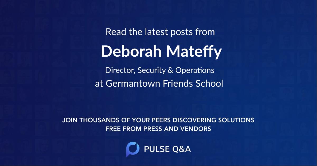 Deborah Mateffy