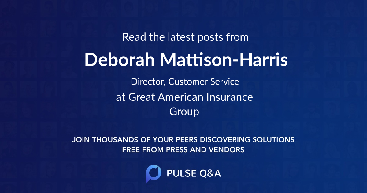 Deborah Mattison-Harris