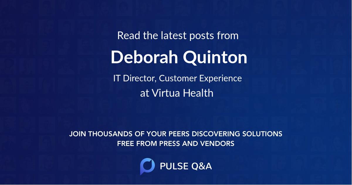 Deborah Quinton