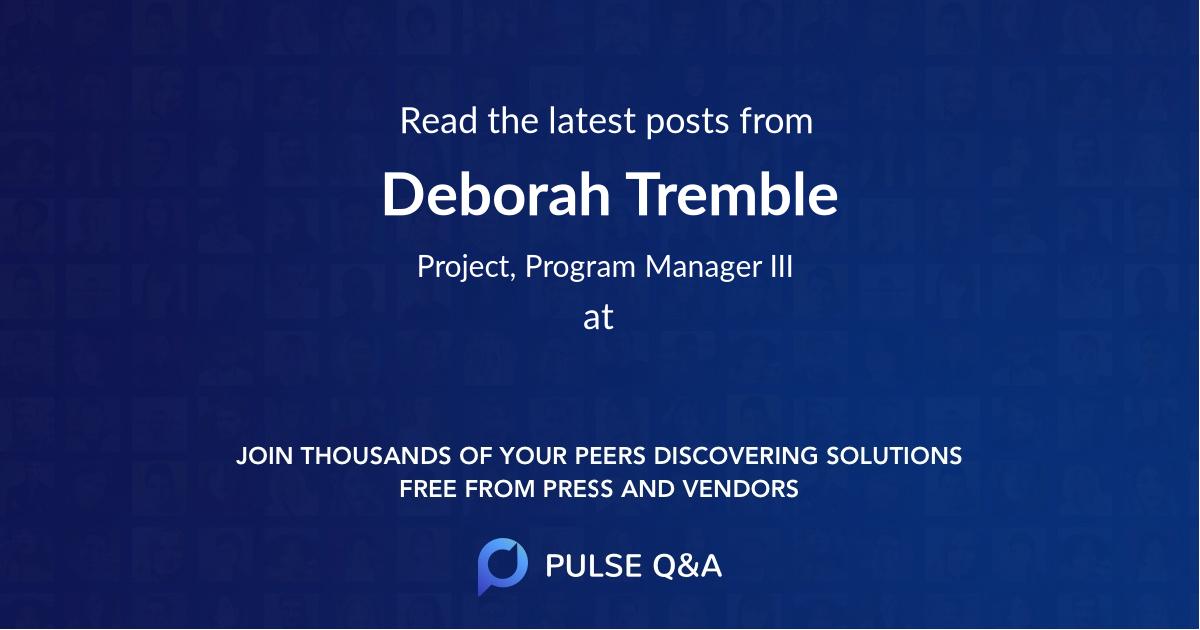 Deborah Tremble