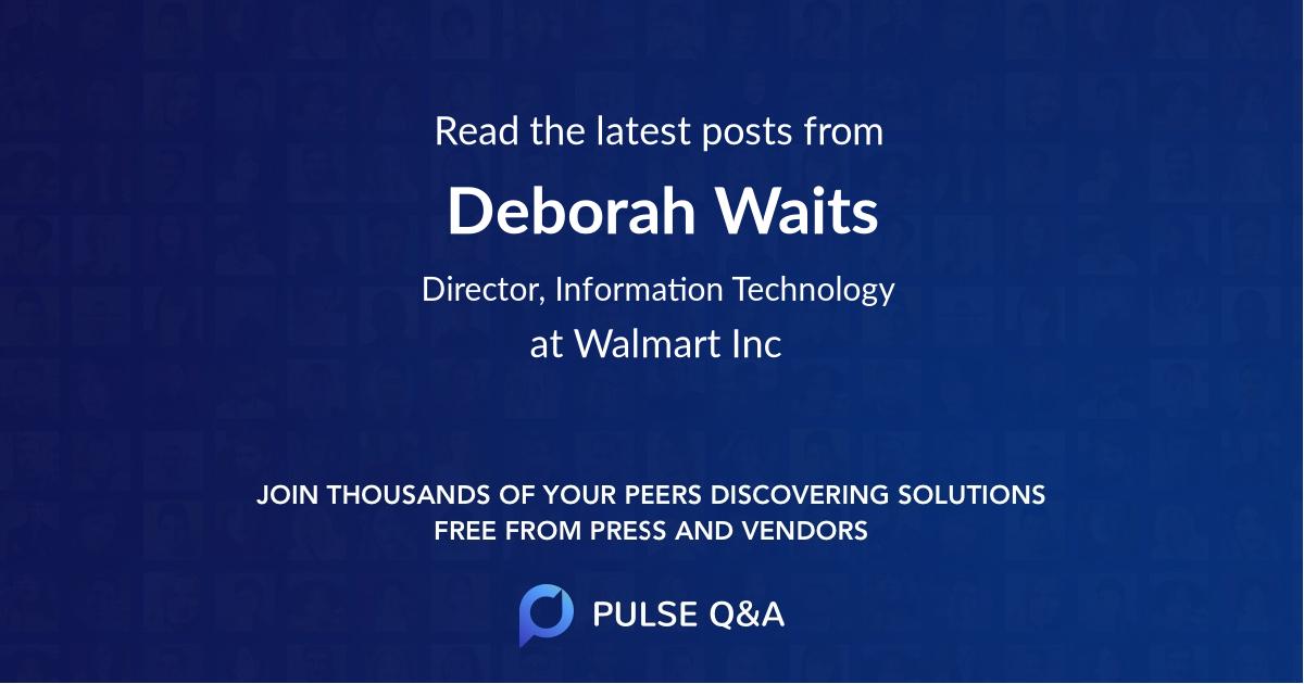 Deborah Waits