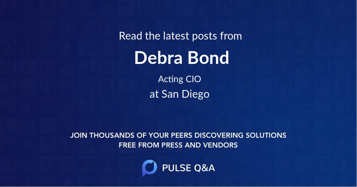 Debra Bond