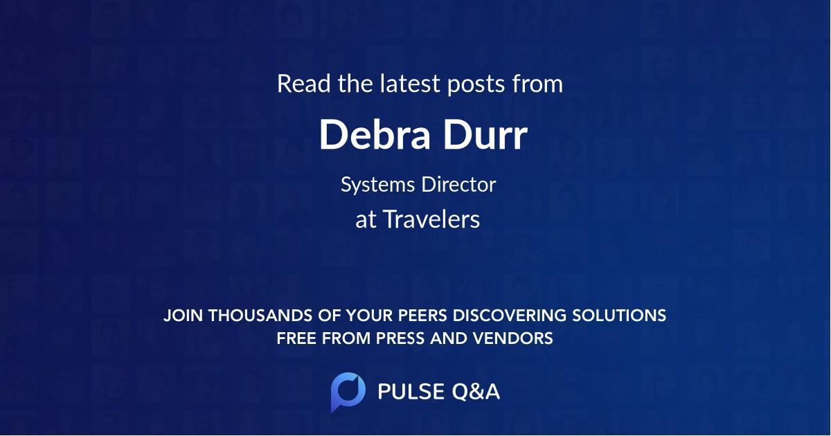 Debra Durr