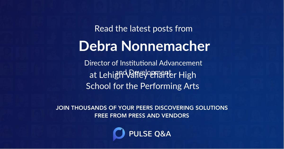 Debra Nonnemacher