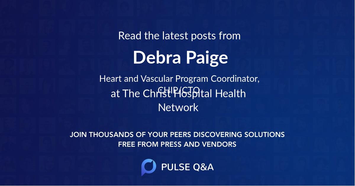 Debra Paige
