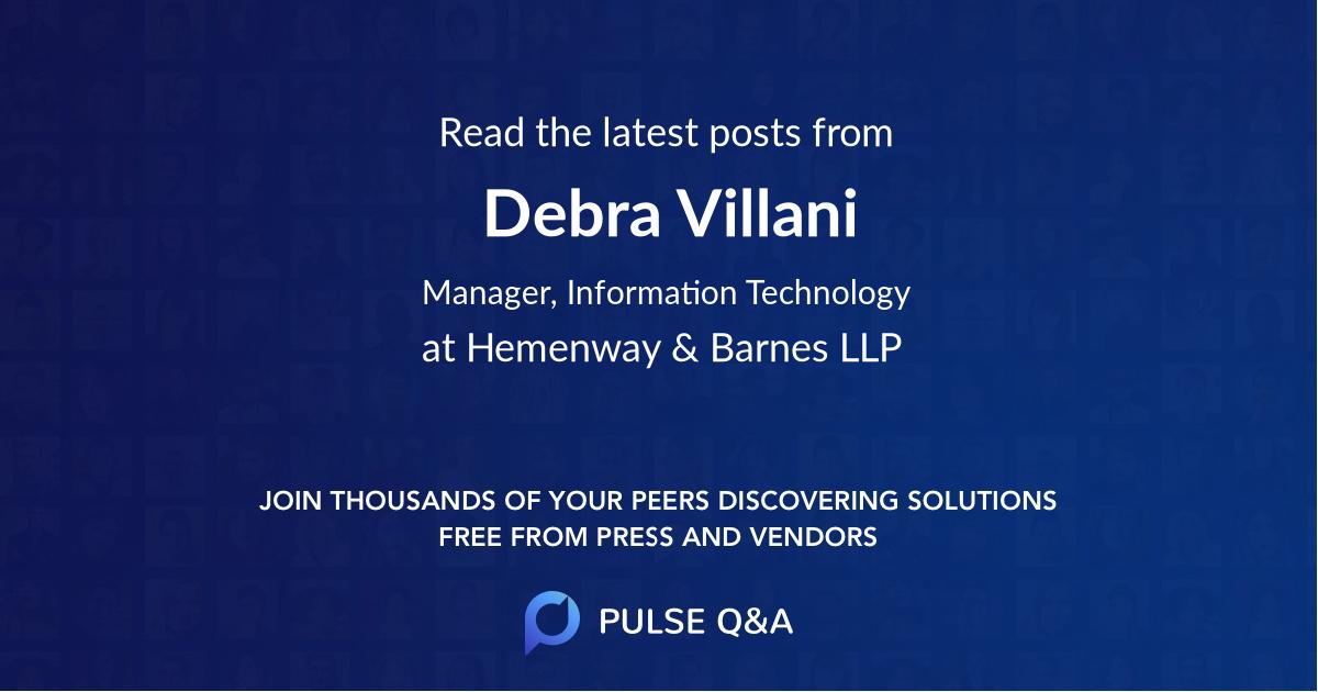 Debra Villani