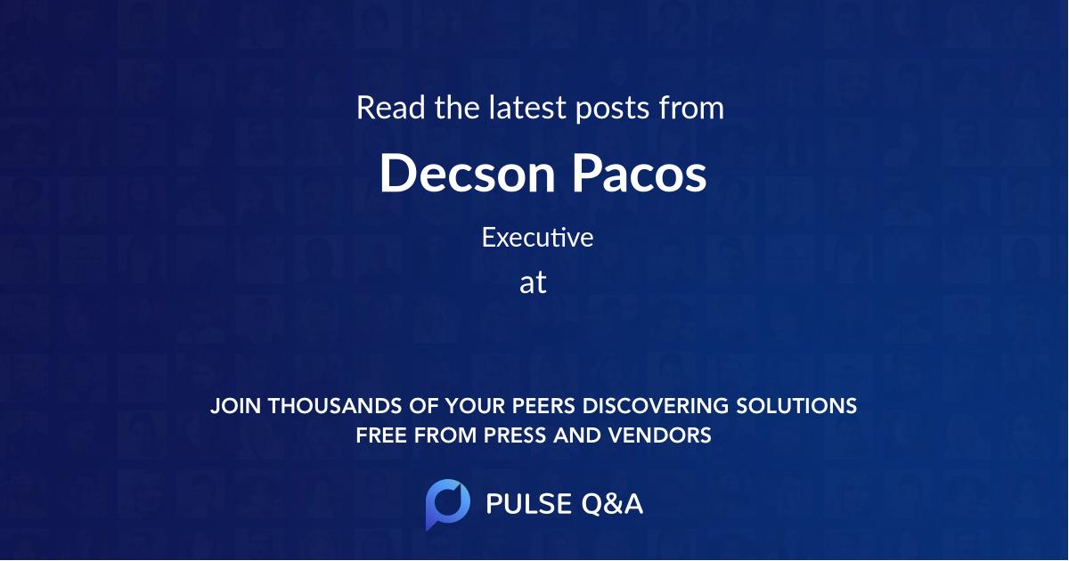 Decson Pacos