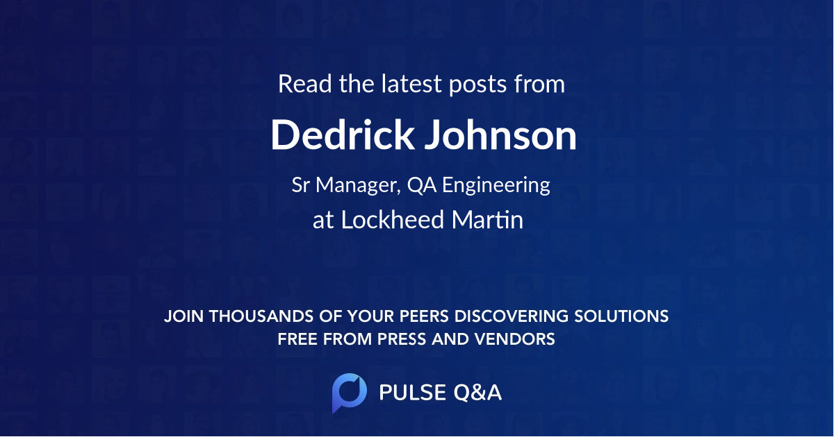 Dedrick Johnson