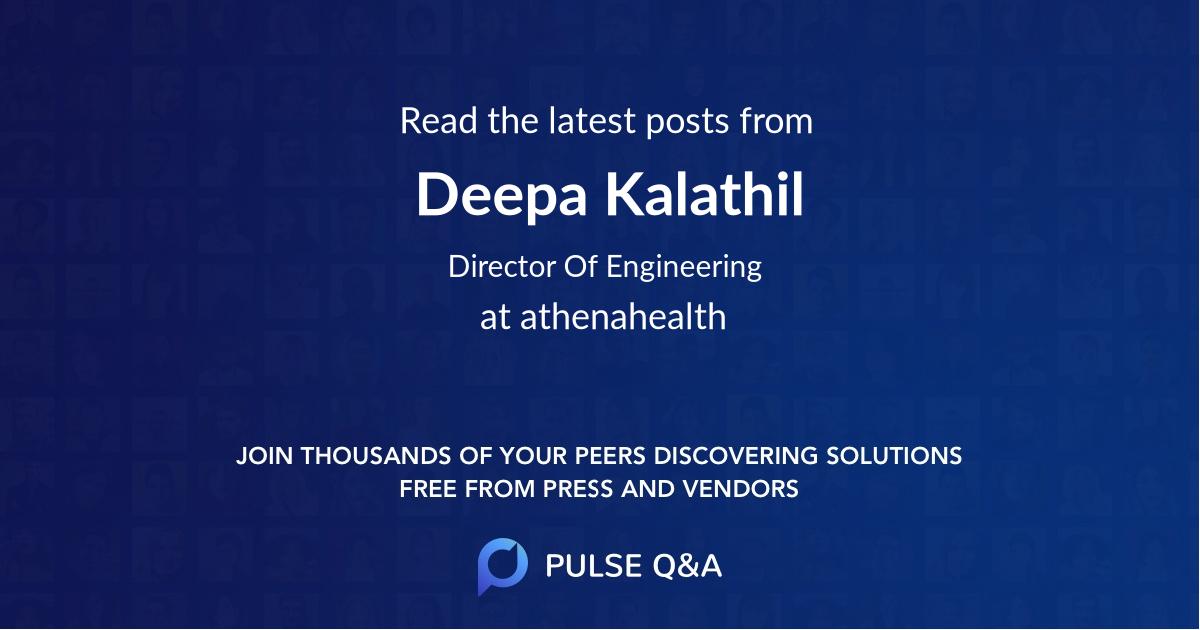 Deepa Kalathil