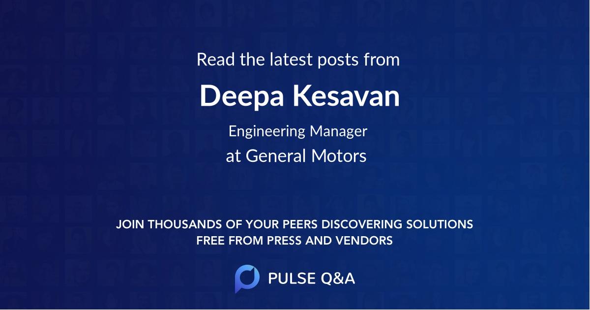 Deepa Kesavan