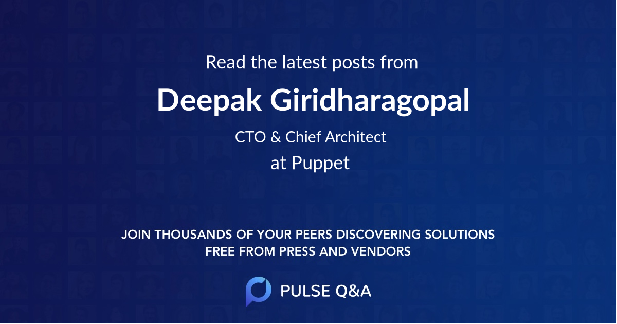 Deepak Giridharagopal