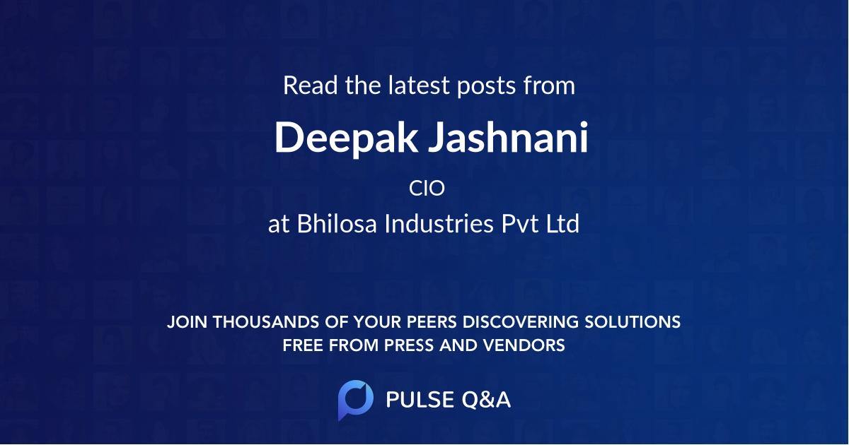 Deepak Jashnani