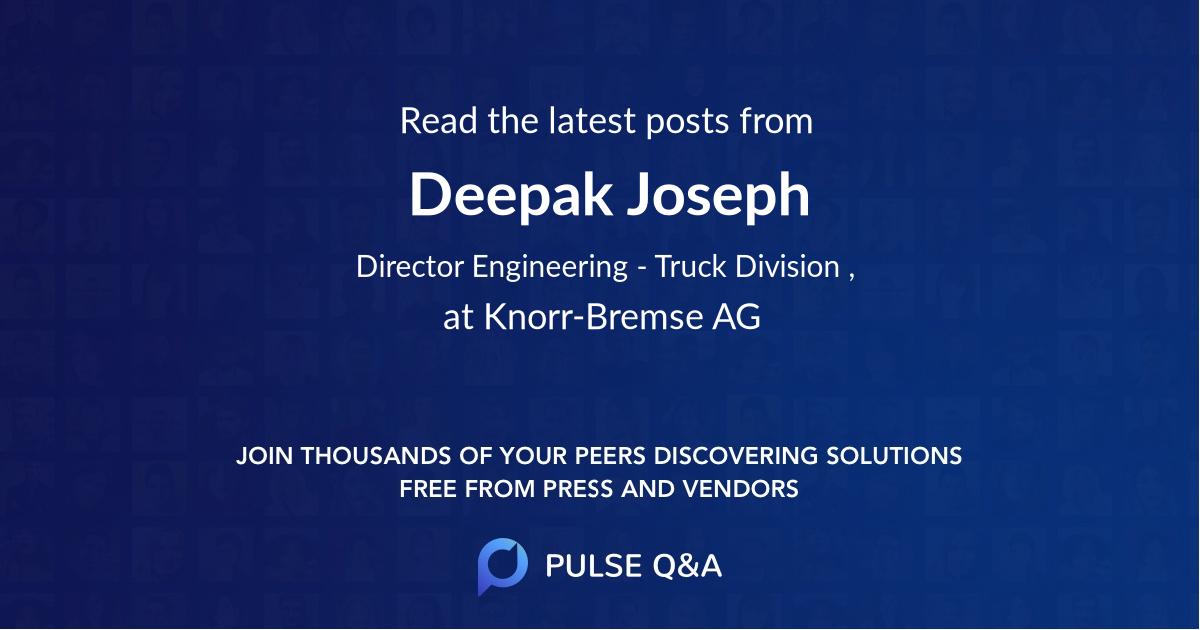 Deepak Joseph