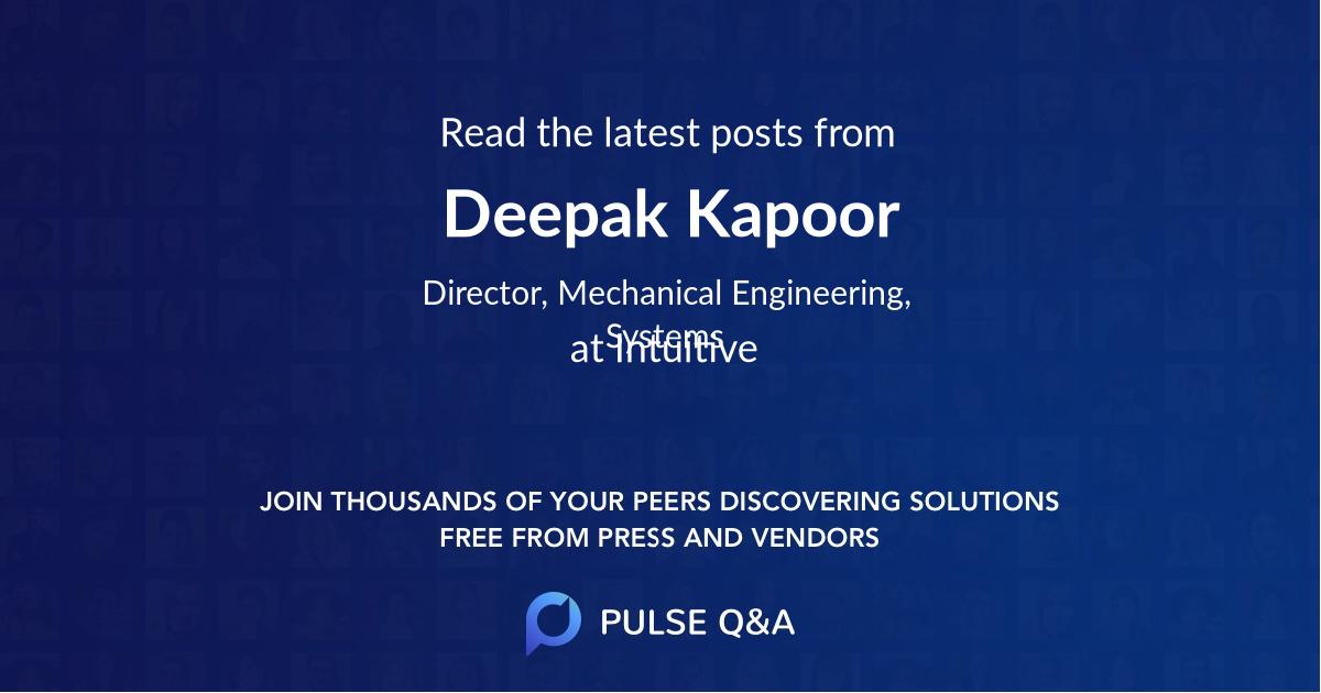 Deepak Kapoor