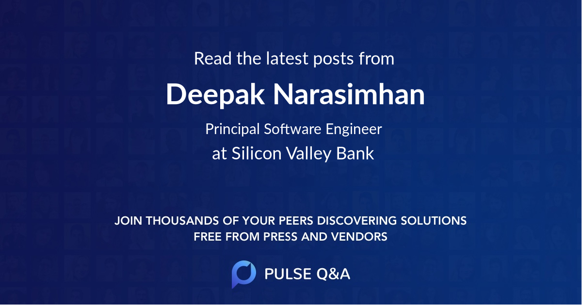 Deepak Narasimhan