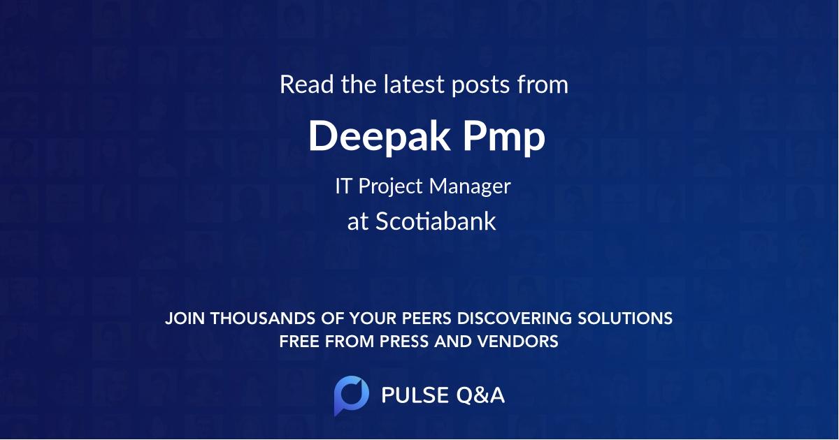 Deepak Pmp