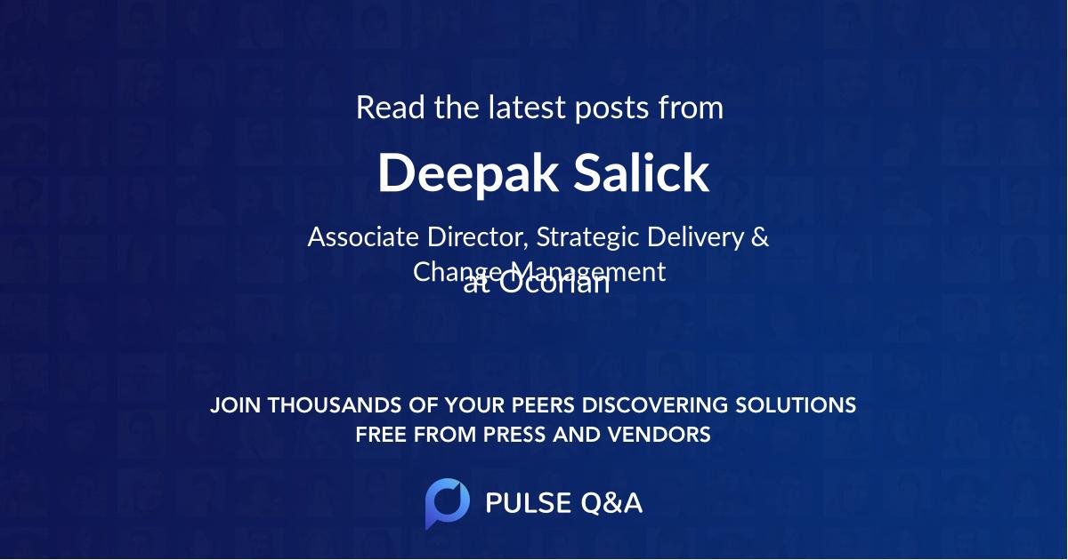 Deepak Salick