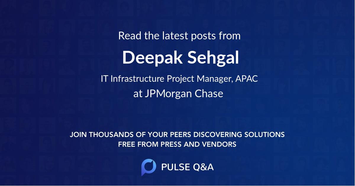 Deepak Sehgal