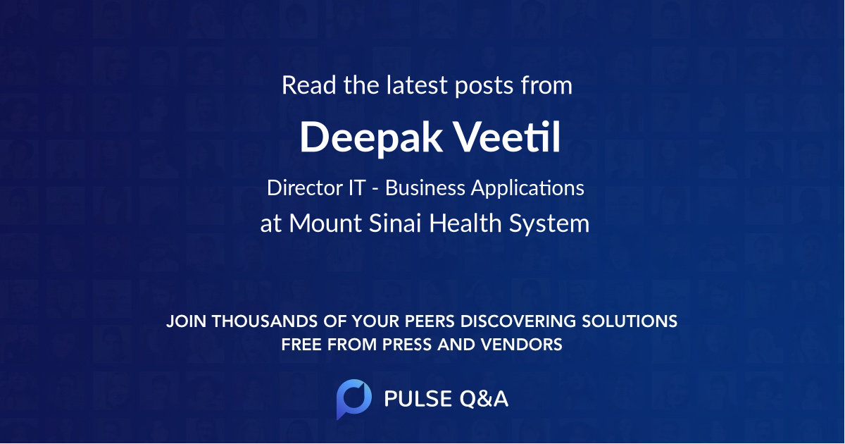 Deepak Veetil