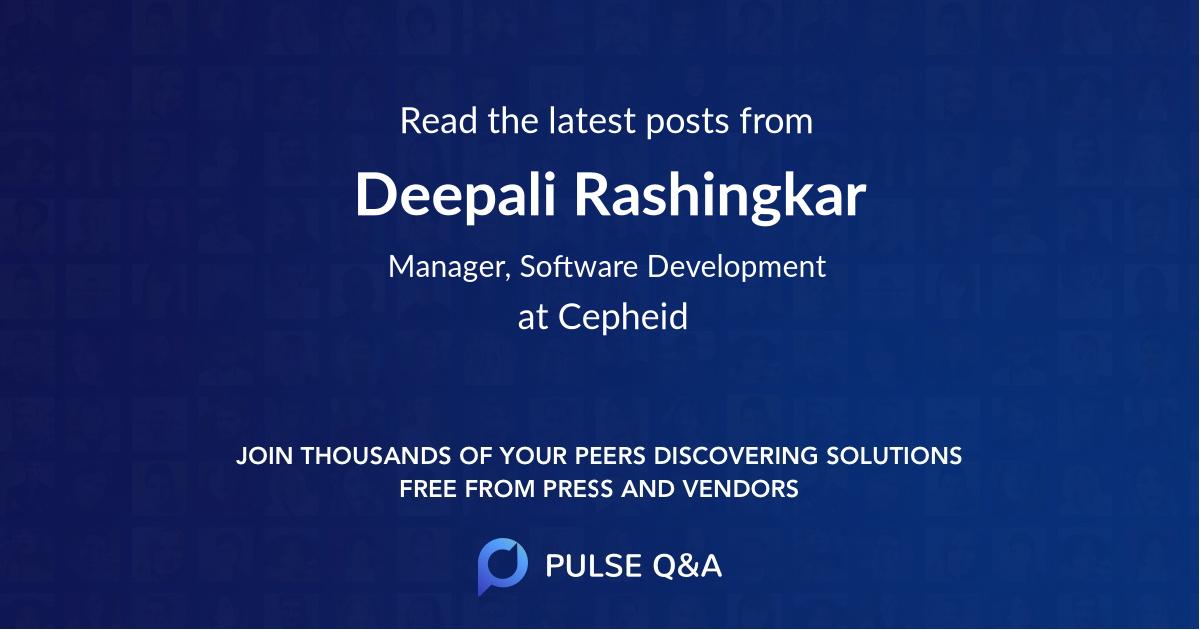Deepali Rashingkar