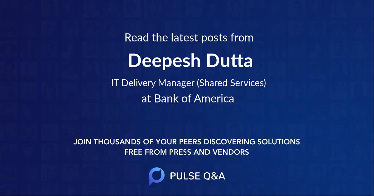 Deepesh Dutta
