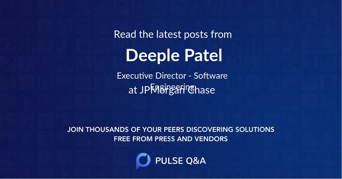 Deeple Patel