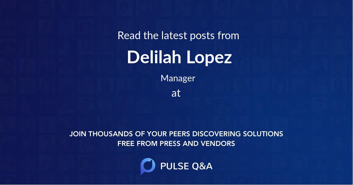 Delilah Lopez