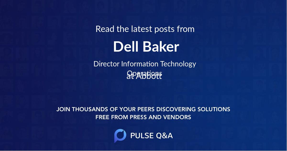 Dell Baker