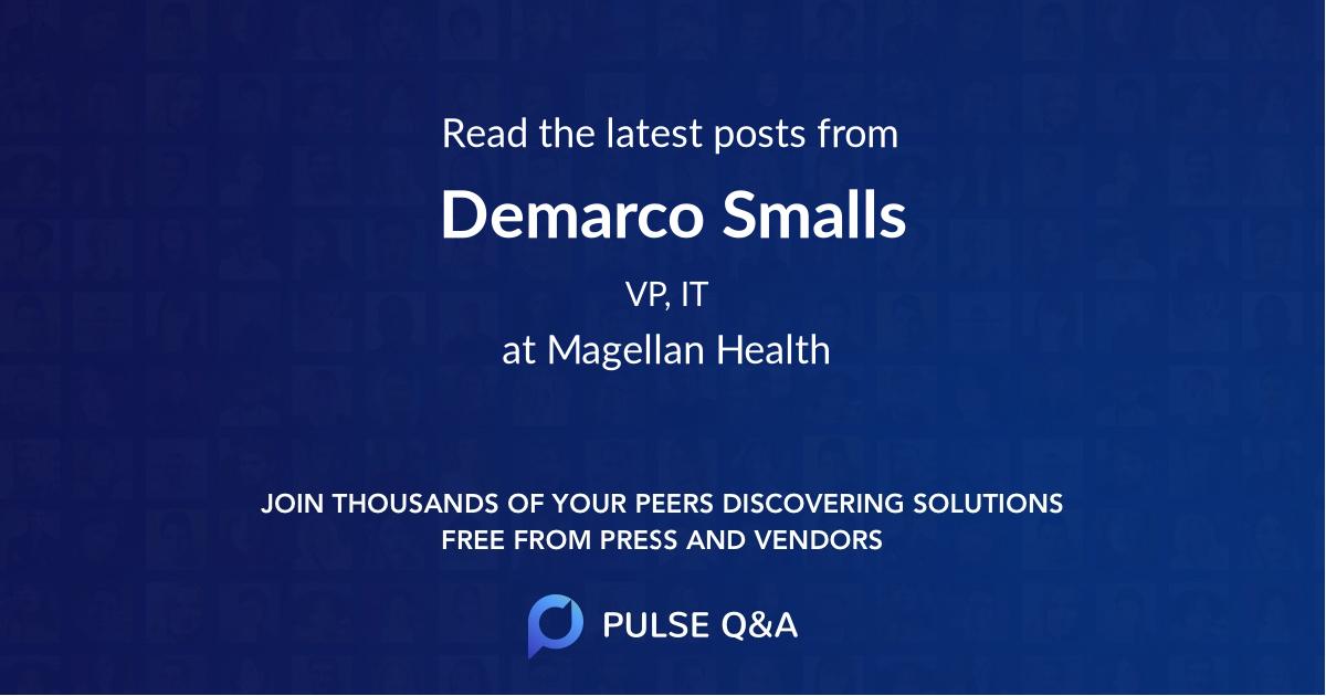 Demarco Smalls