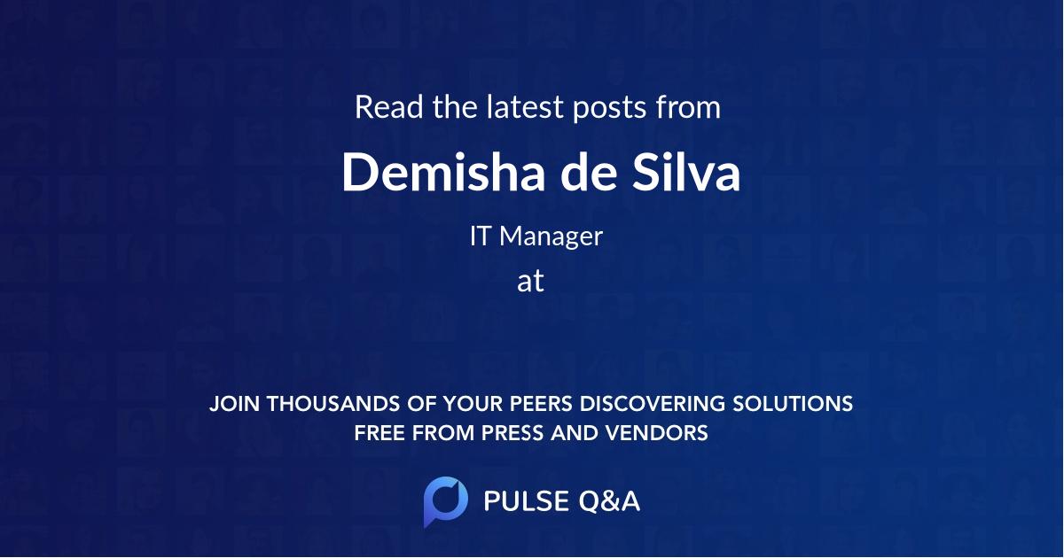 Demisha de Silva