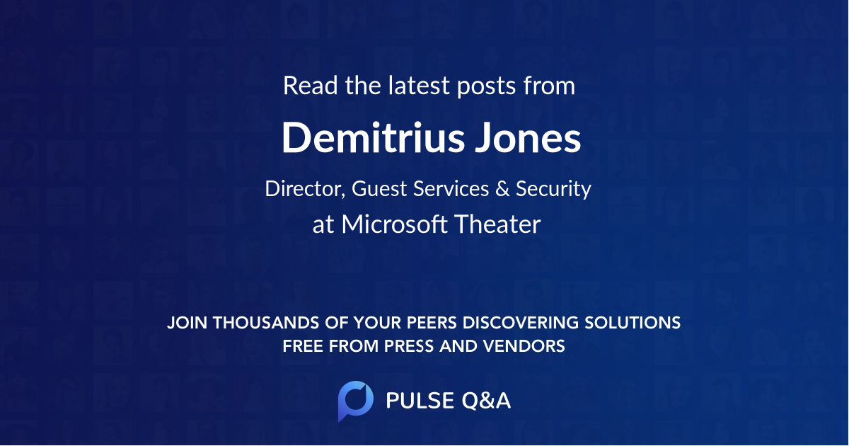 Demitrius Jones
