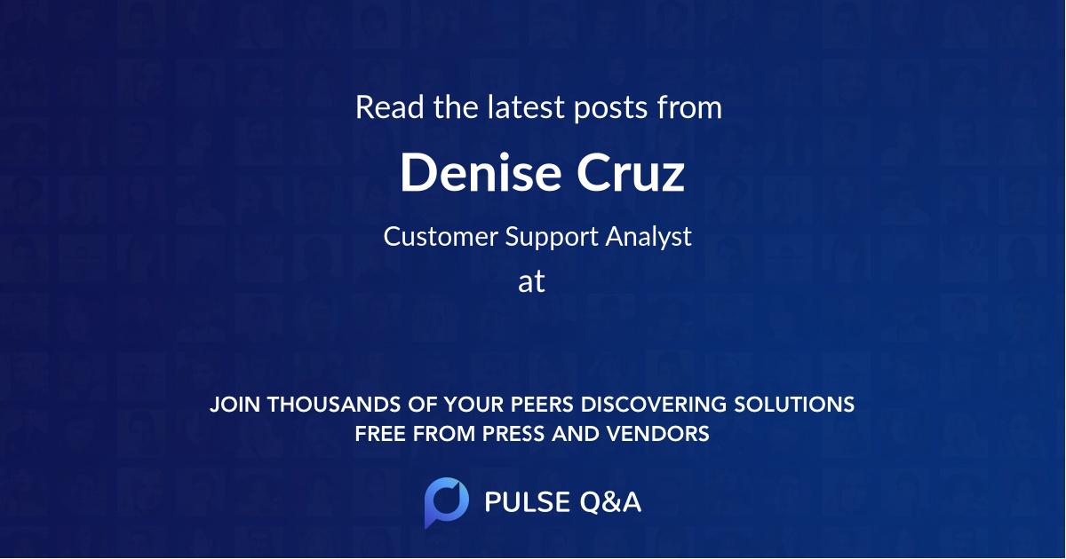 Denise Cruz