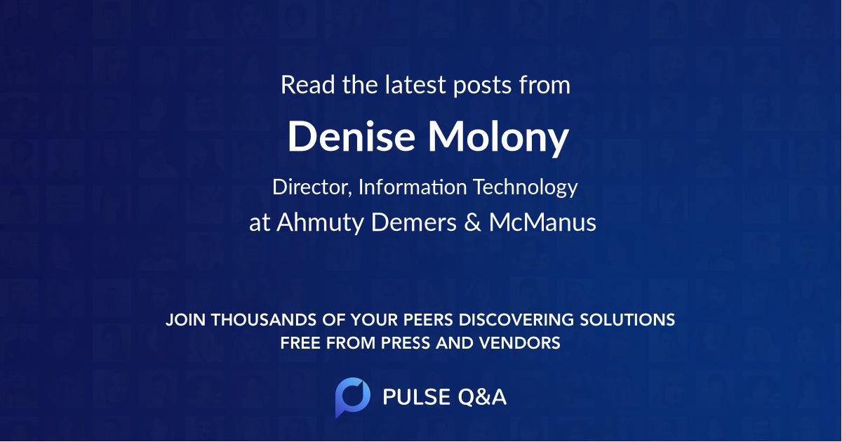 Denise Molony