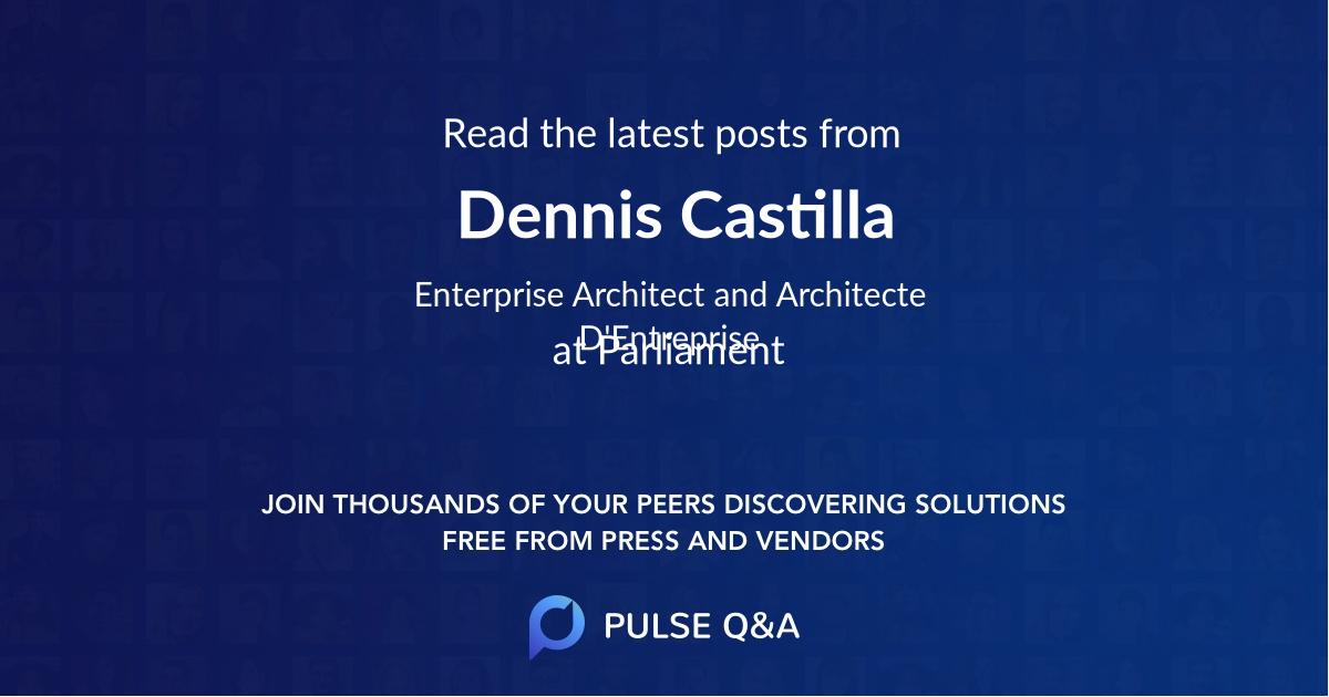 Dennis Castilla