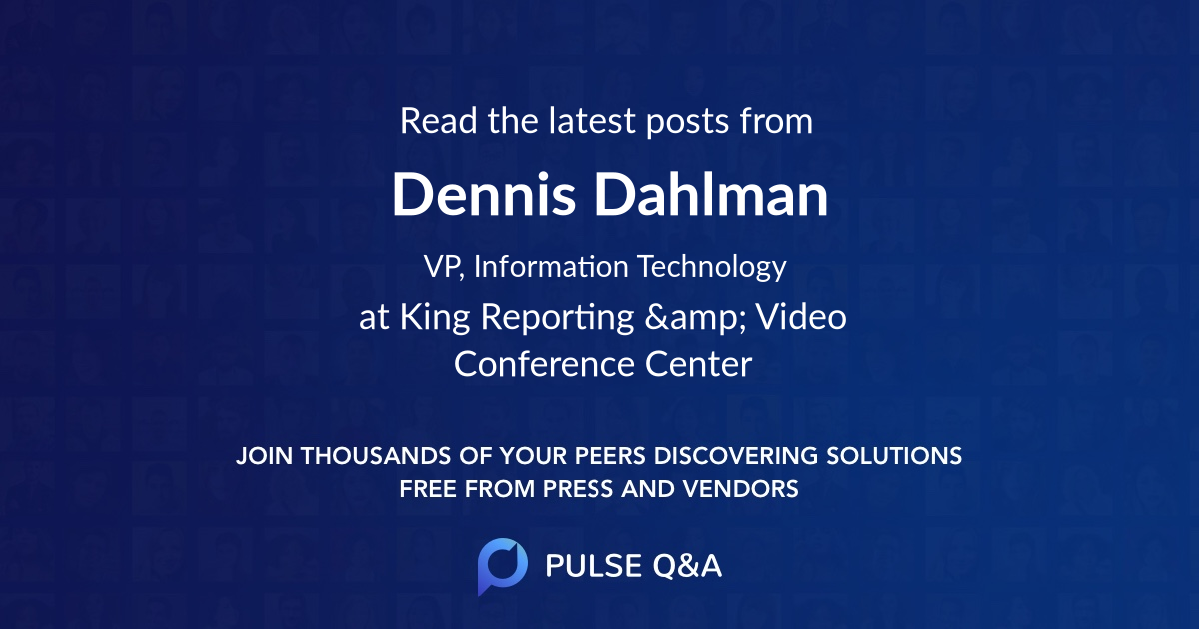 Dennis Dahlman
