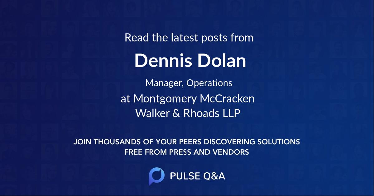Dennis Dolan