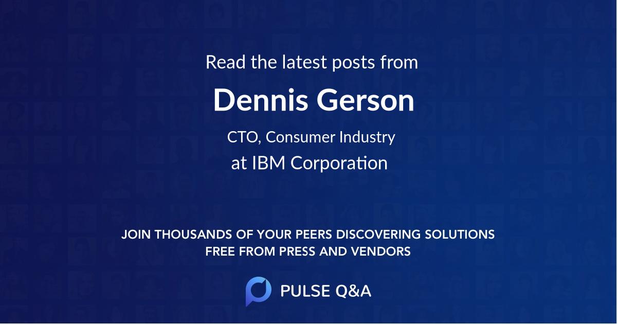 Dennis Gerson