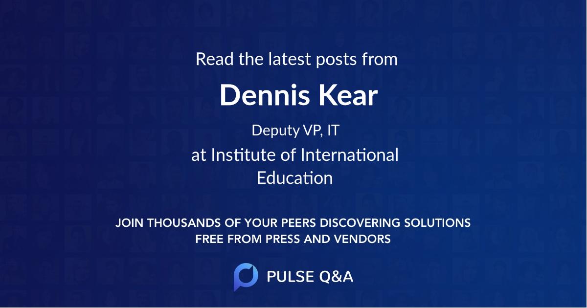 Dennis Kear