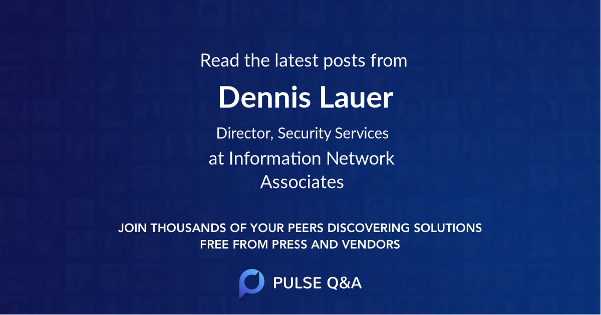 Dennis Lauer