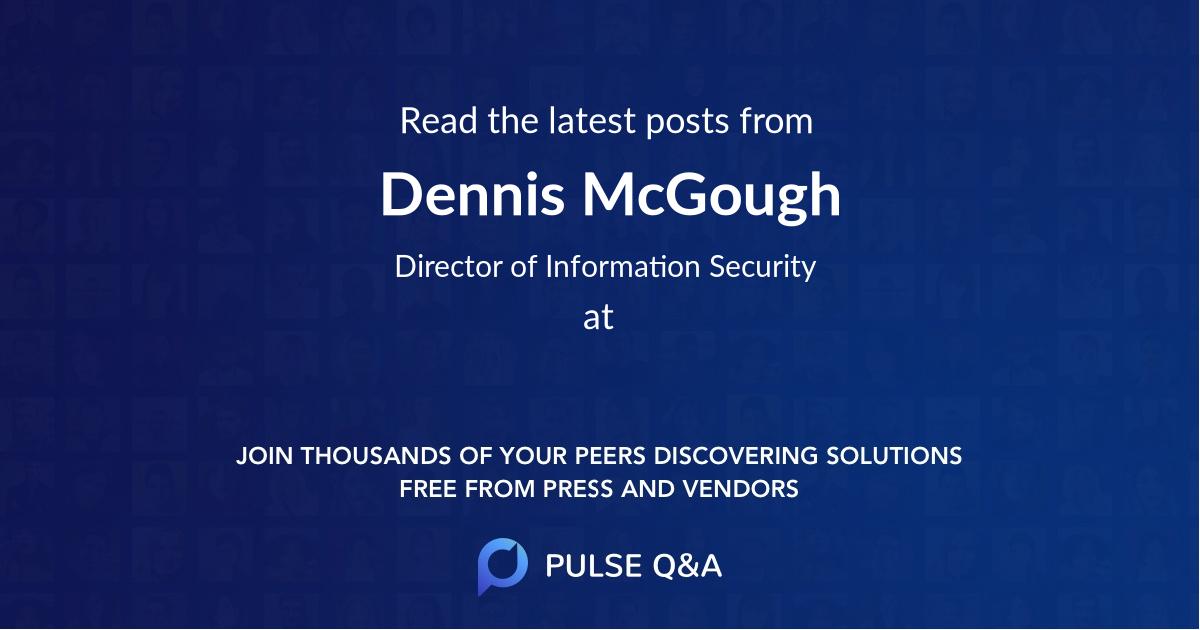 Dennis McGough