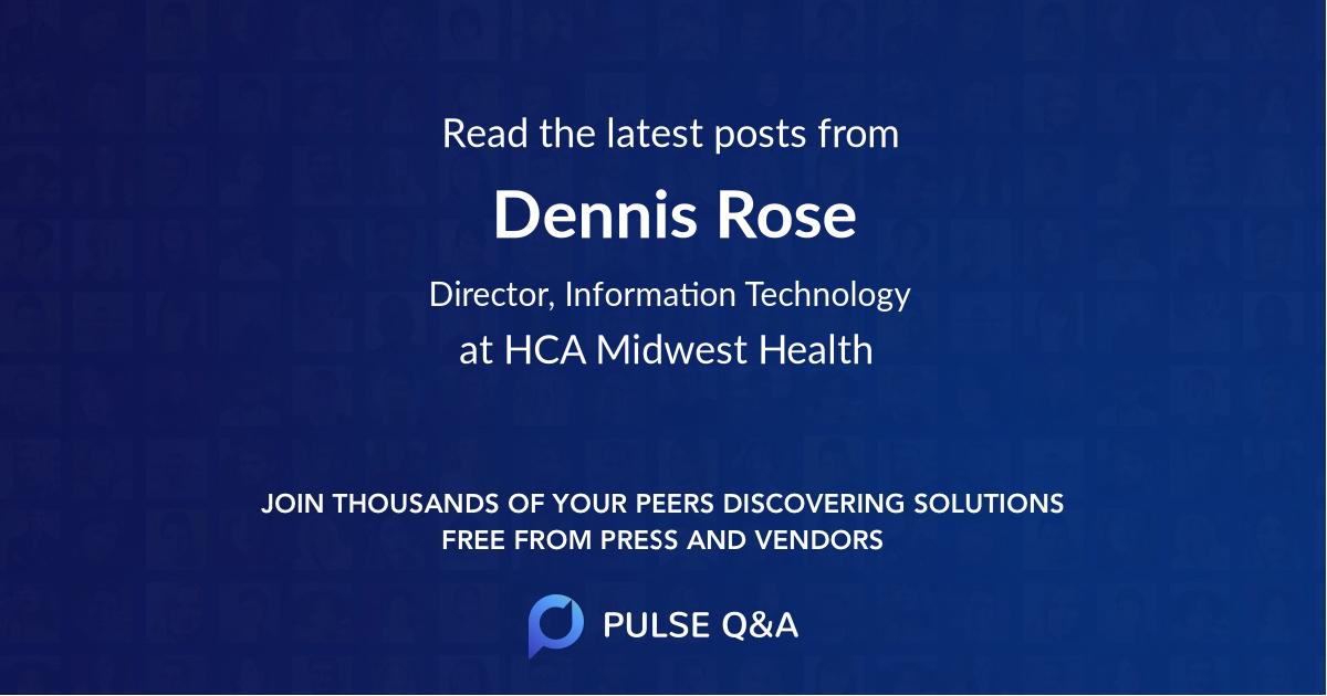 Dennis Rose