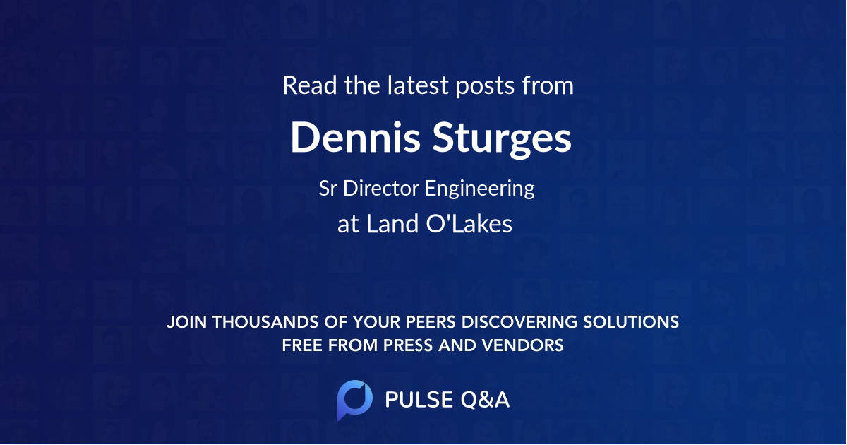 Dennis Sturges