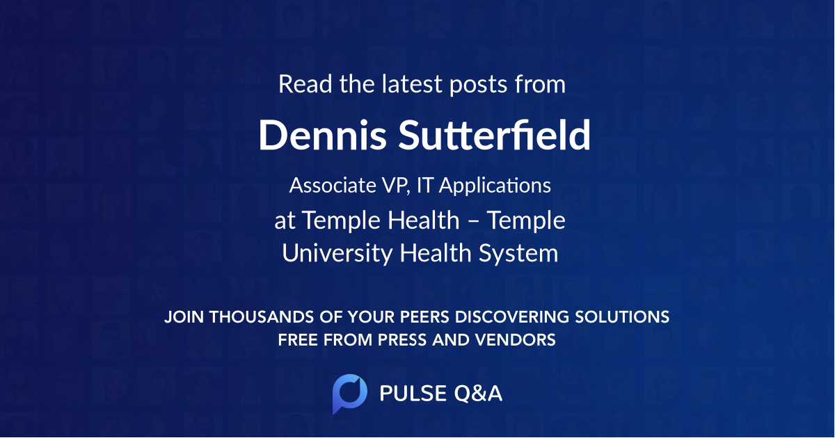 Dennis Sutterfield
