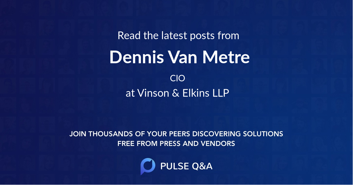Dennis Van Metre