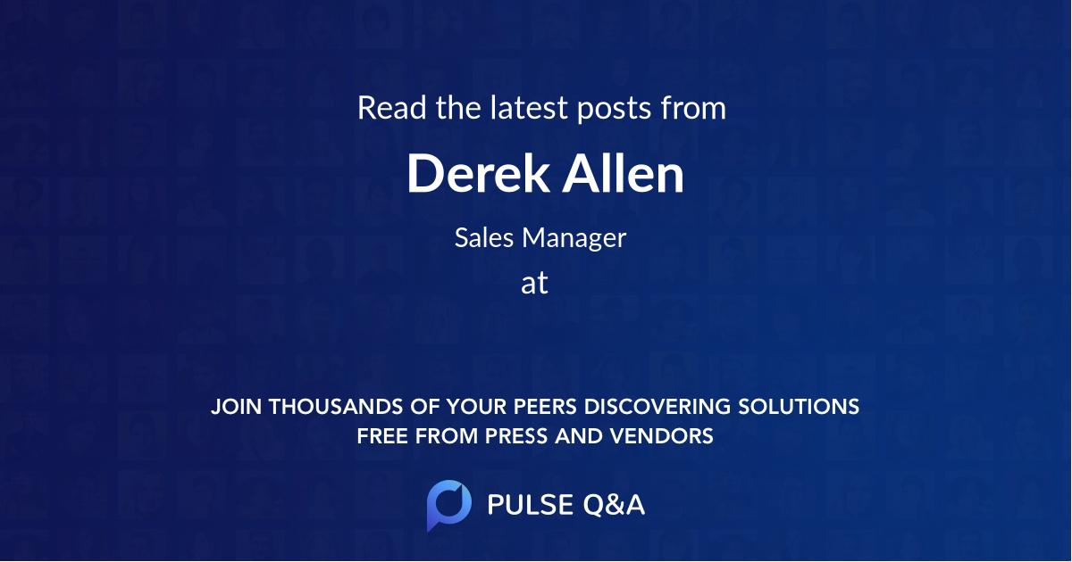 Derek Allen