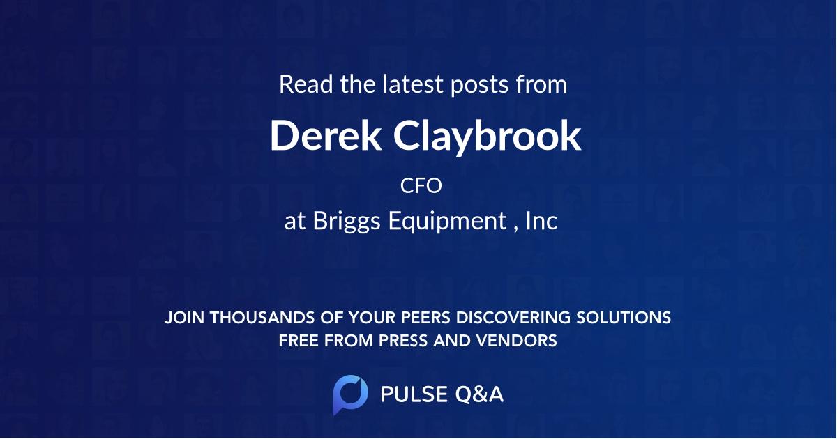 Derek Claybrook